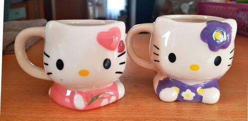 北海道KITTY咖啡杯(二手商品,8成新)